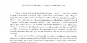 TKDK IPARD II Programının 10. Başvuru Çağrı ilanı